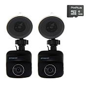 Polaroid Full HD Dash Cam 2-pack with 2 16GB microSDHC Cards