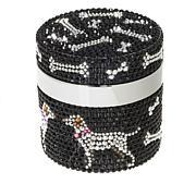 PRAI Ageless Throat and Decolletage Crème in  Dog Print Jar/3.4 fl oz