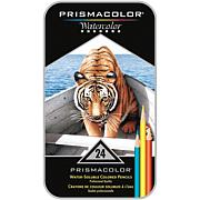 Prismacolor Watercolor Pencil Tin - 24-piece Set