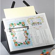 PROP-IT Needlework Chart Holder with Magnifier