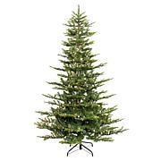Puleo 6-1/2 ft. Pre-Lit Arctic Fir Artificial Christmas Tree