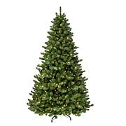 Puleo International 7.5' Pre-lit Vancouver Spruce Christmas Tree