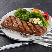 Pureland Meat Co 8 oz. Black Angus NY Strip Steaks 8-count