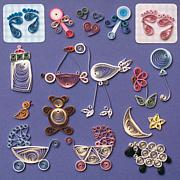 Quilling Kit - Baby