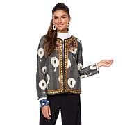 Rara Avis by Iris Apfel Quilted Trophy Jacket