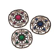 Rara Avis by Iris Apfel Vintage-Style 3pc Brooch Set