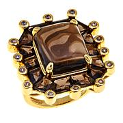 Rarities Octagonal Gemstone Ring