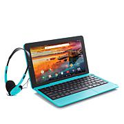 """RCA 11.6"""" HD 32GB Quad-Core Android Tablet w/Keyboard/Headphones/Apps"""