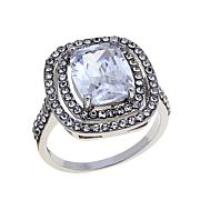 Real Collectibles by Adrienne® Cushion-Cut Ring