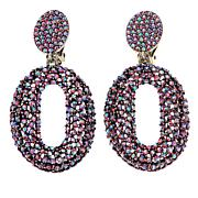 Real Collectibles by Adrienne® Oval Drop Earrings