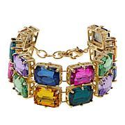 "R.J. Graziano ""Sparkle Sparkle"" 7-1/2"" Multicolor 2-Row Bracelet"