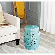 Safavieh Flora Ceramic Garden Stool - Blue