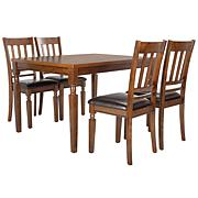 Reynolds Black Wood 3 Piece Modern Drop Leaf Pub Set With