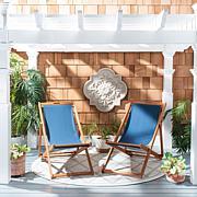 Safavieh Loren Set of 2 Foldable Sling Chairs