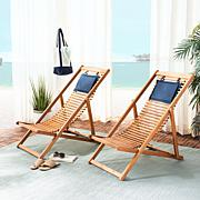 Safavieh Rendi Relax Patio Chair with Pillow