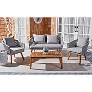 Safavieh Velso 4-piece Outdoor Living Set