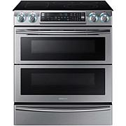 Samsung 5.8 Cu. Ft. Slide-In Electric Range with Wi-Fi