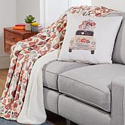 Sara B. Fall Pillow & Throw Holiday Set