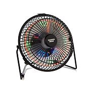 Sharper Image LED Clock Tabletop Fan