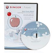 Singer® Futura Auto CrossStitch Embroidery CD-ROM