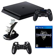 "Sony PlayStation 4 Core 1TB Console with ""Kingdom Hearts III"" Game"