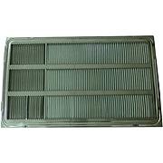 "Stamped Aluminum Rear Grille for 26"" Wall Sleeve"