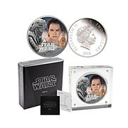 "Star Wars ""Rey"" Proof LE Colorized Silver $2 Coin"