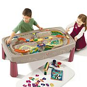 step 2 Deluxe Canyon Road Train and Track Table