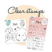 Studio Light Karin Joan Clear Stamp Set