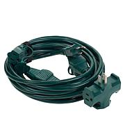 Sun Joe® Indoor/Outdoor 25' Extension Cord with 5 Outlets
