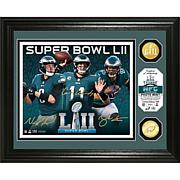 Super Bowl LII Philadelphia Eagles Team Force Bronze Coin Photo Mint
