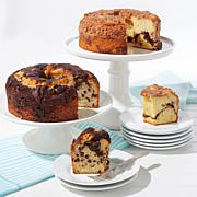 SweetDo Sour Cream Coffee Cake 2-pack - Cinnamon & Chocolate Chip