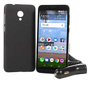 """TCL LX A502DL 5.4"""" 16GB Tracfone with Case, Car Charger and Voucher"""