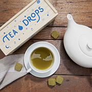 Tea Drops 25 Servings in Large Wooden Box - Matcha Green Tea