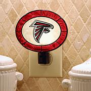Team Glass Nightlight - Atlanta Falcons