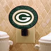 Team Glass Nightlight - Green Bay Packers