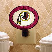 Team Glass Nightlight - Washington Redskins