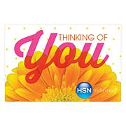 Thinking of You $100.00 HSN Gift Card