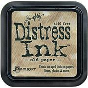 Tim Holtz Distress Ink Stamp Pad - Old Paper