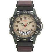 Timex Men's Analog-Digital Chrono Alarm Strap Watch