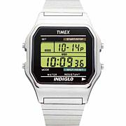 Timex Men's Silvertone Digital Chronograph Expansion Band Watch