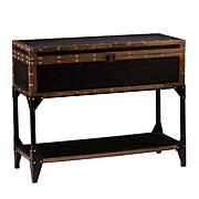 Travel Trunk Console Table