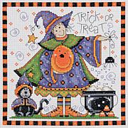 Trick Or Treat Cross-Stitch Kit