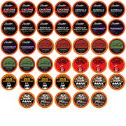 Two Rivers Assorted Bold/Dark Roast Coffee Pods, Variety Pack 40-Count