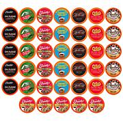Two Rivers Coffee 40ct Chocolate Lovers Coffee Pods Sampler