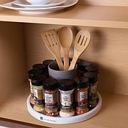 Two's Company Cork Holder Jar with Wood Lid