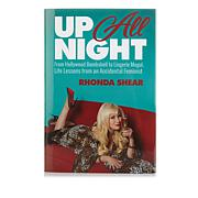 Up All Night Hardcover Book by Rhonda Shear