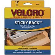 VELCRO® STICKY BACK™ Tape - 15' - Beige