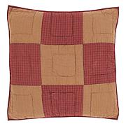 VHC Brands Ninepatch Star Quilted Euro Sham