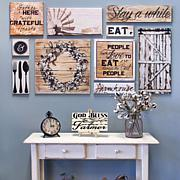 Wall Gallery Home Décor 10-piece Set - Farmhouse Dining